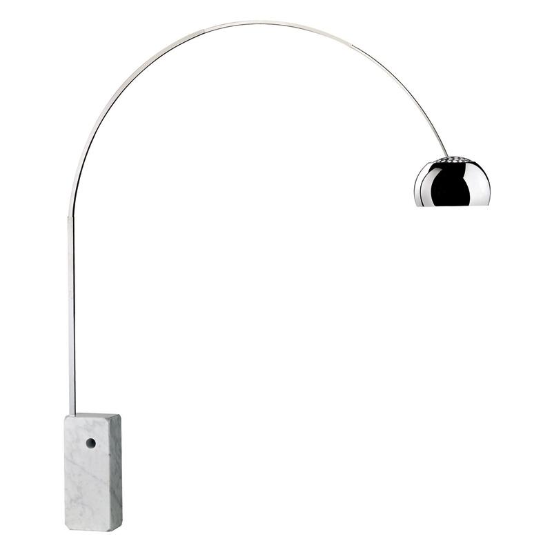 ARCO - Floor Lamp - Designer Lighting - Silvera Uk