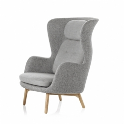 RO wooden legs - Easy chair - Showrooms -  Silvera Uk