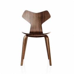 GRAND PRIX wooden legs - Dining Chair - Showrooms -  Silvera Uk
