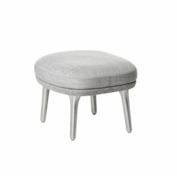 Footrest RO aluminium legs - Pouffe - Designer Furniture -  Silvera Uk