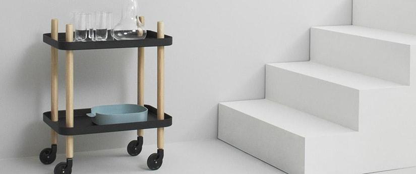 Trolley - Designer Furniture - Silvera Uk