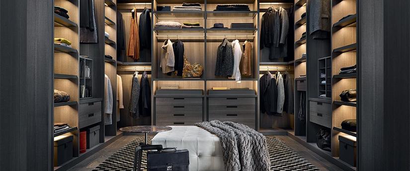 Walk-in Wardrobes - Designer Furniture - Silvera Uk