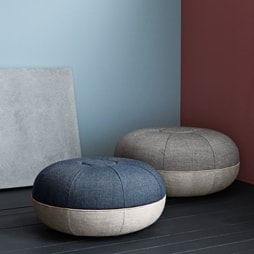 Pouffe - Designer Furniture -  Silvera Uk